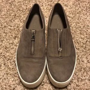 Vince Gray Suede Shoes